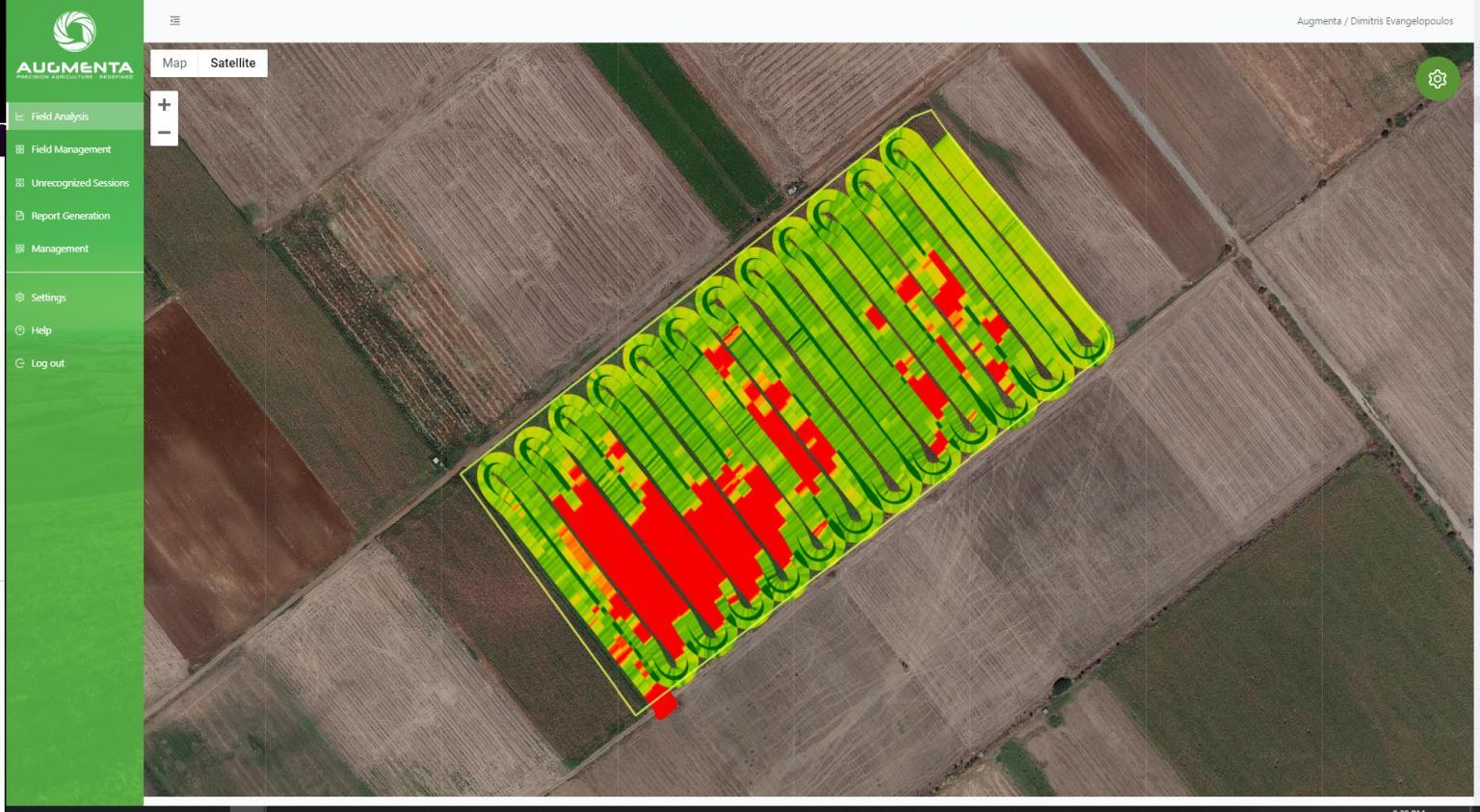 32% Fertilizer Savings achieved on Rapeseed Farm