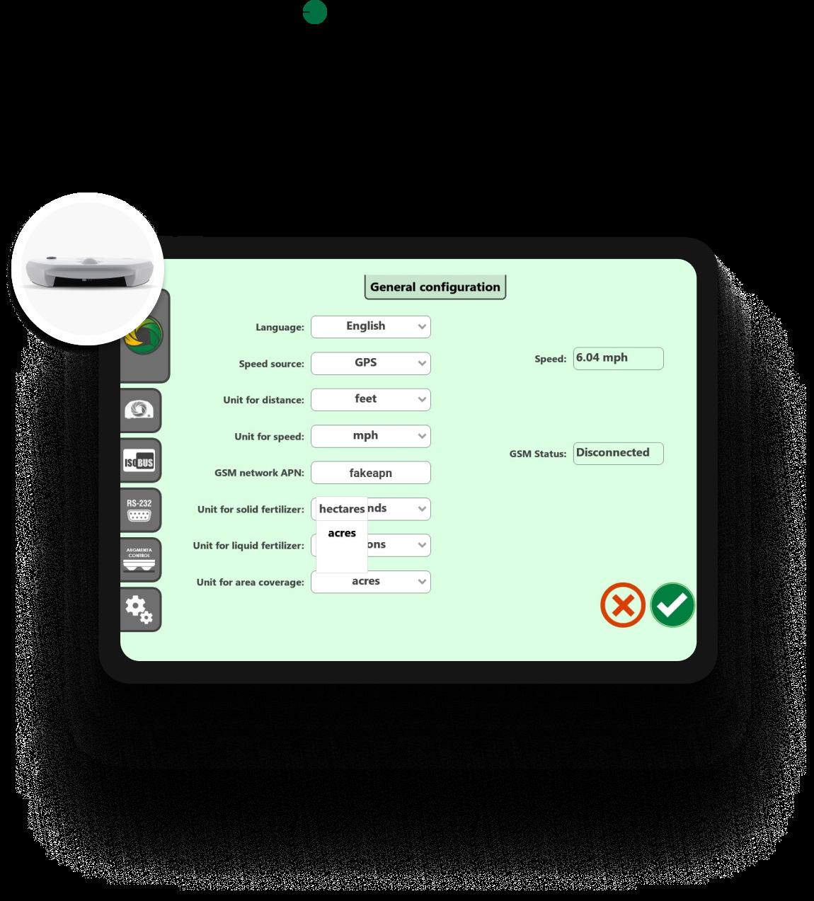 Tablet Screen