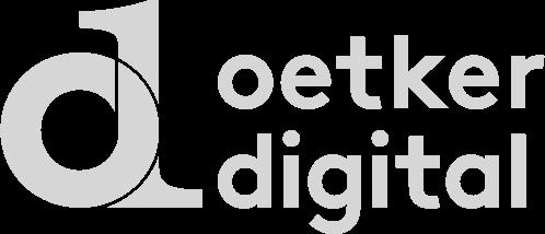 a link to Oetker Digital website