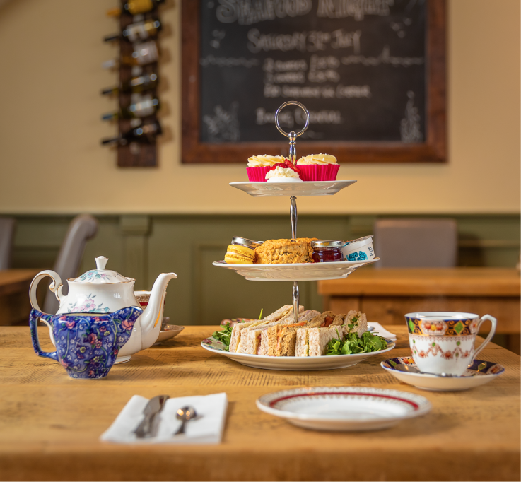 Our beautiful chichester based afternoon teas have a selection of cakes and sweet treats from our tea rooms.