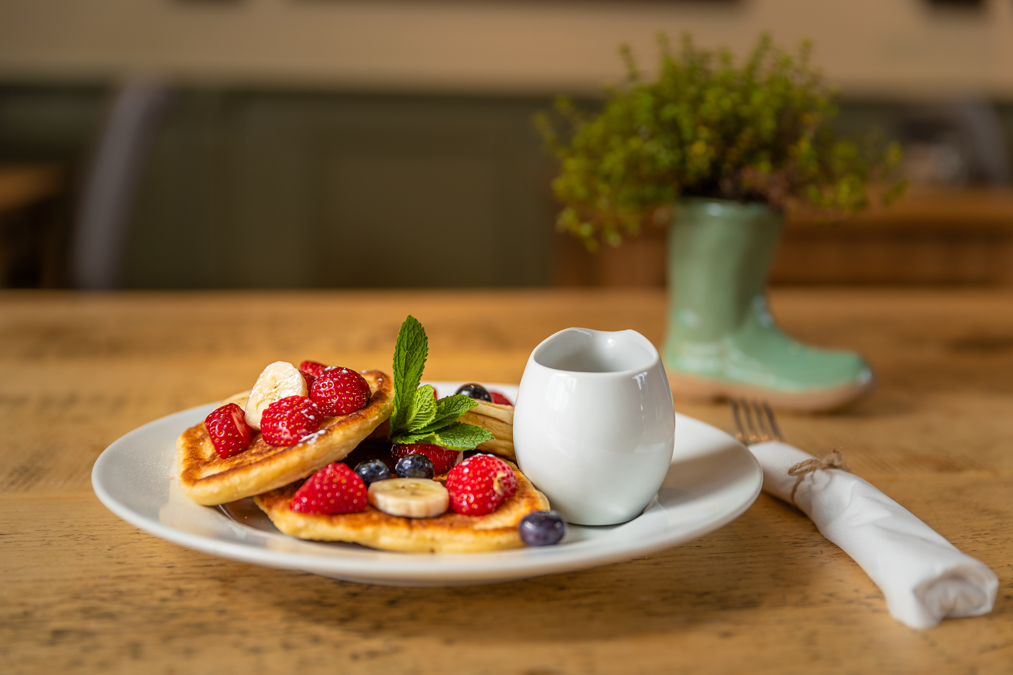 Welleis Tea Rooms pancakes