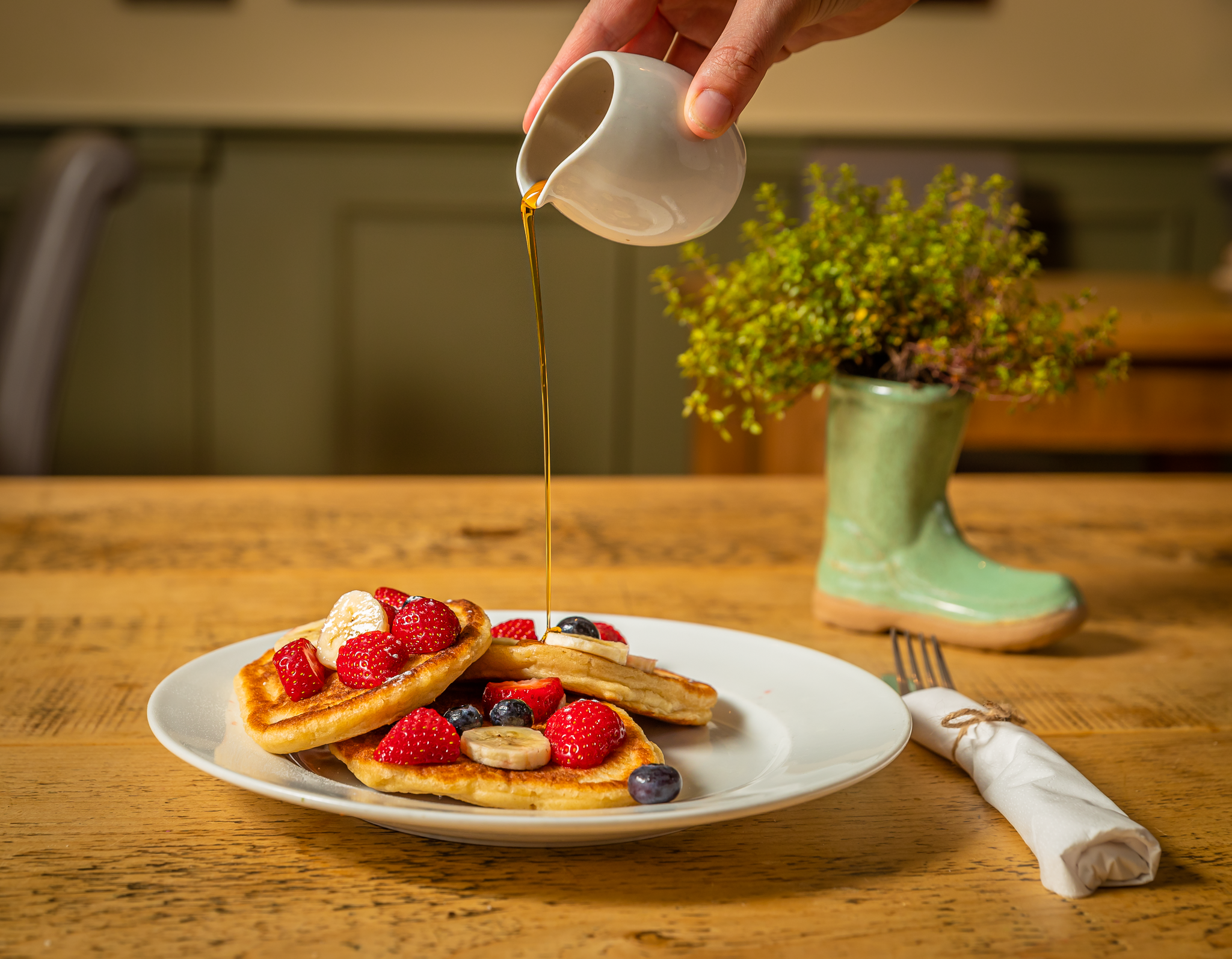 Wellies Tea Rooms Pancakes