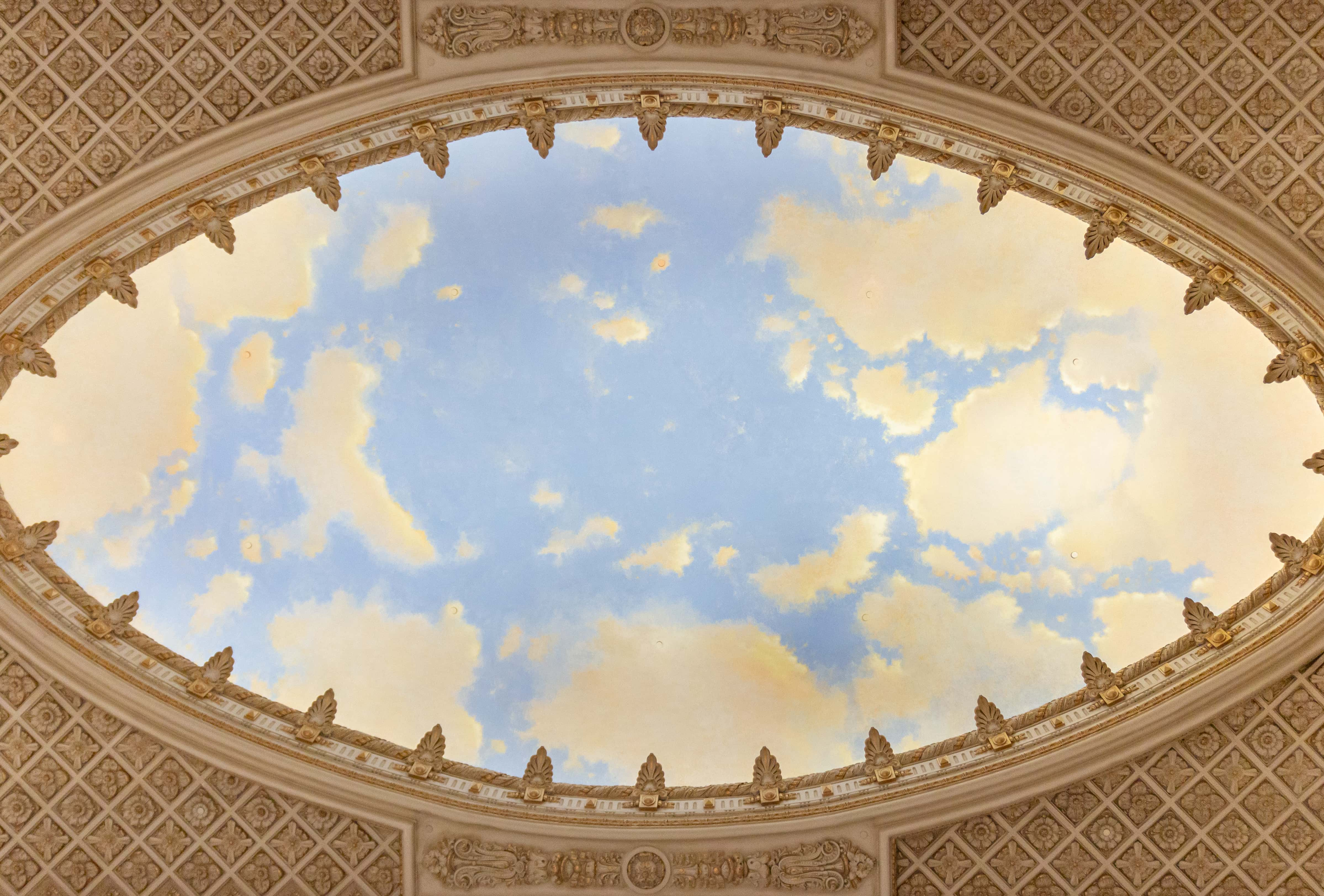 Tower Theatre Sky Mural