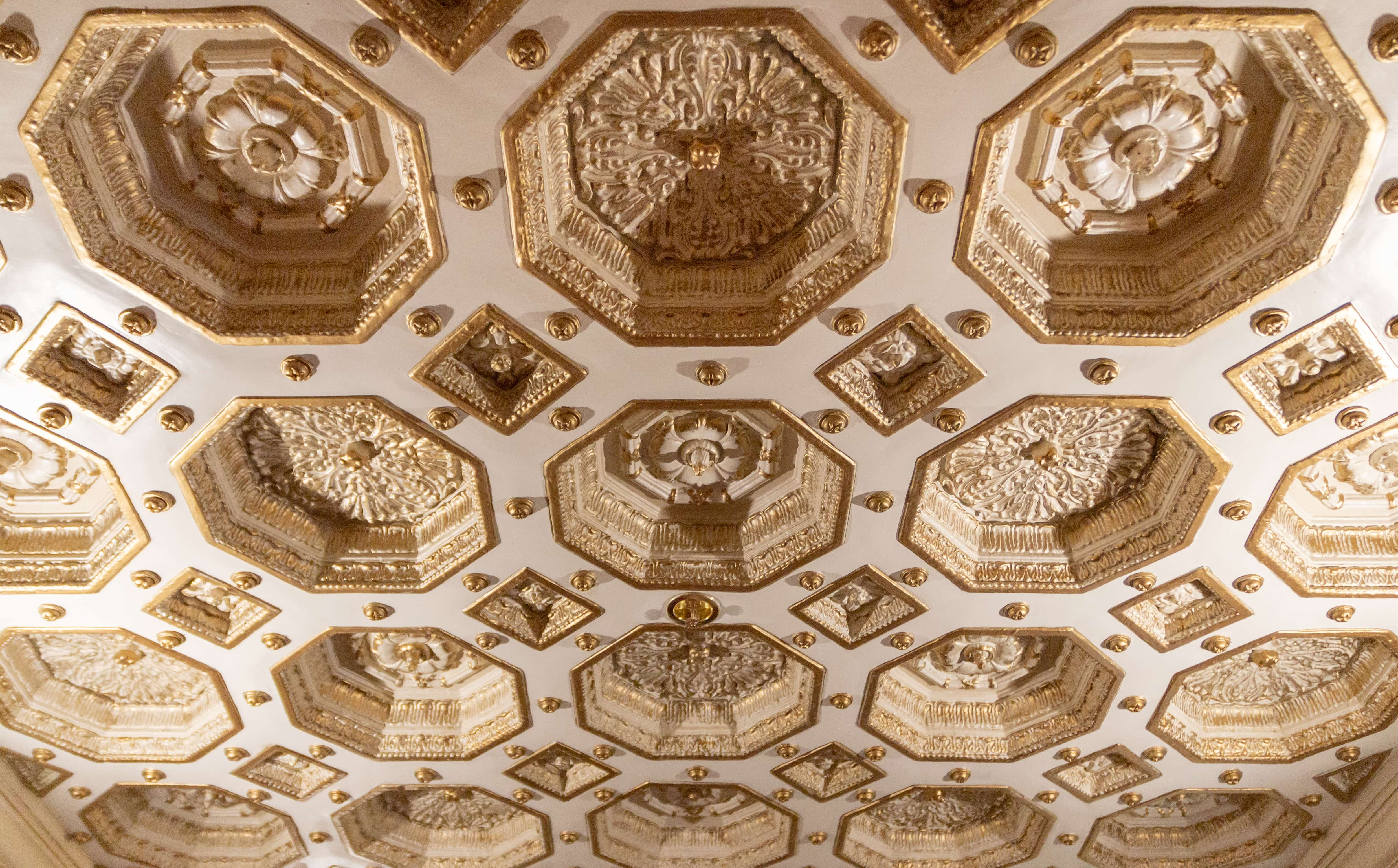 Tower Theatre Ceiling Coffers