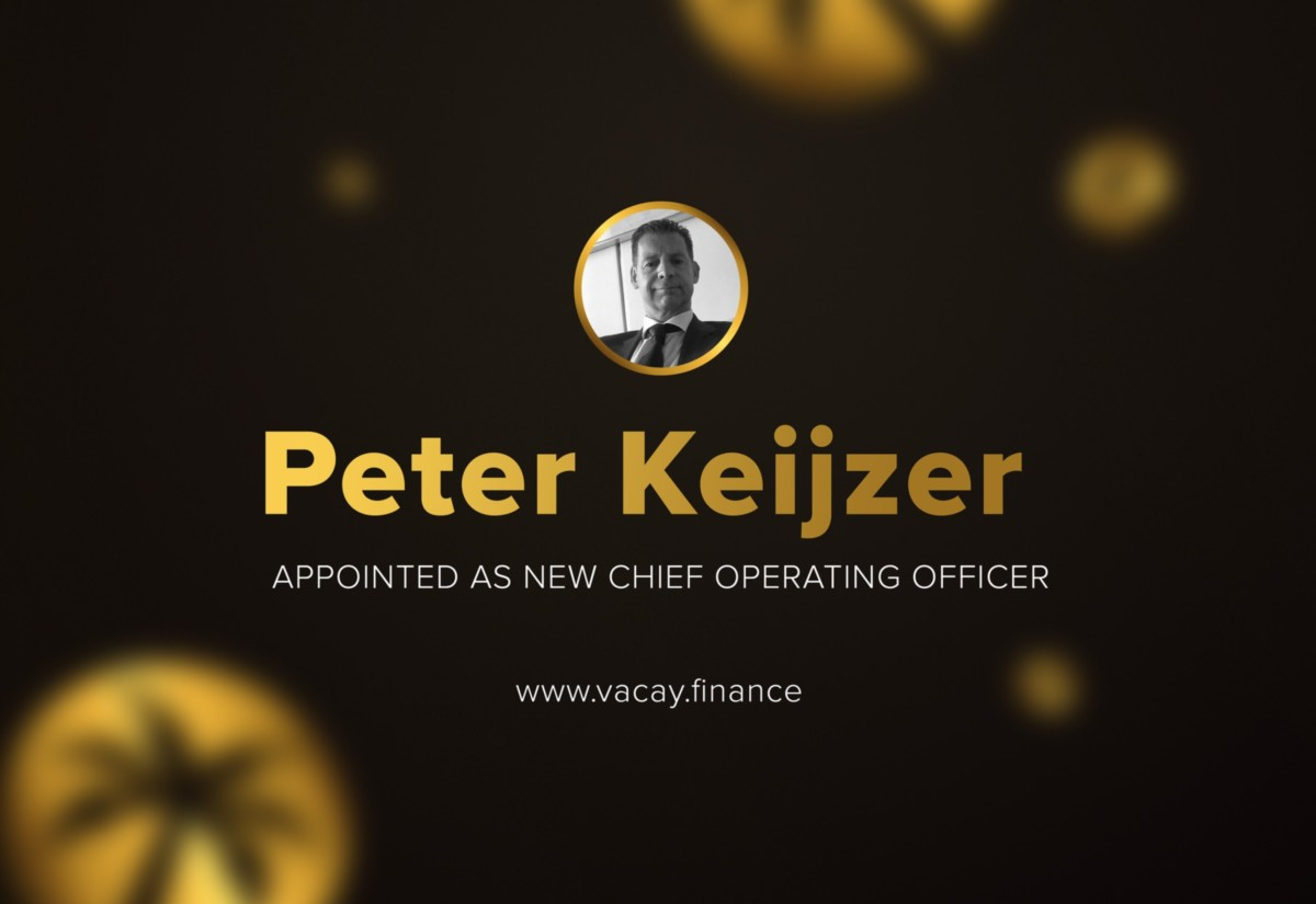 Vacay : Peter Keijzer Appointed as New Chief Operating Officer