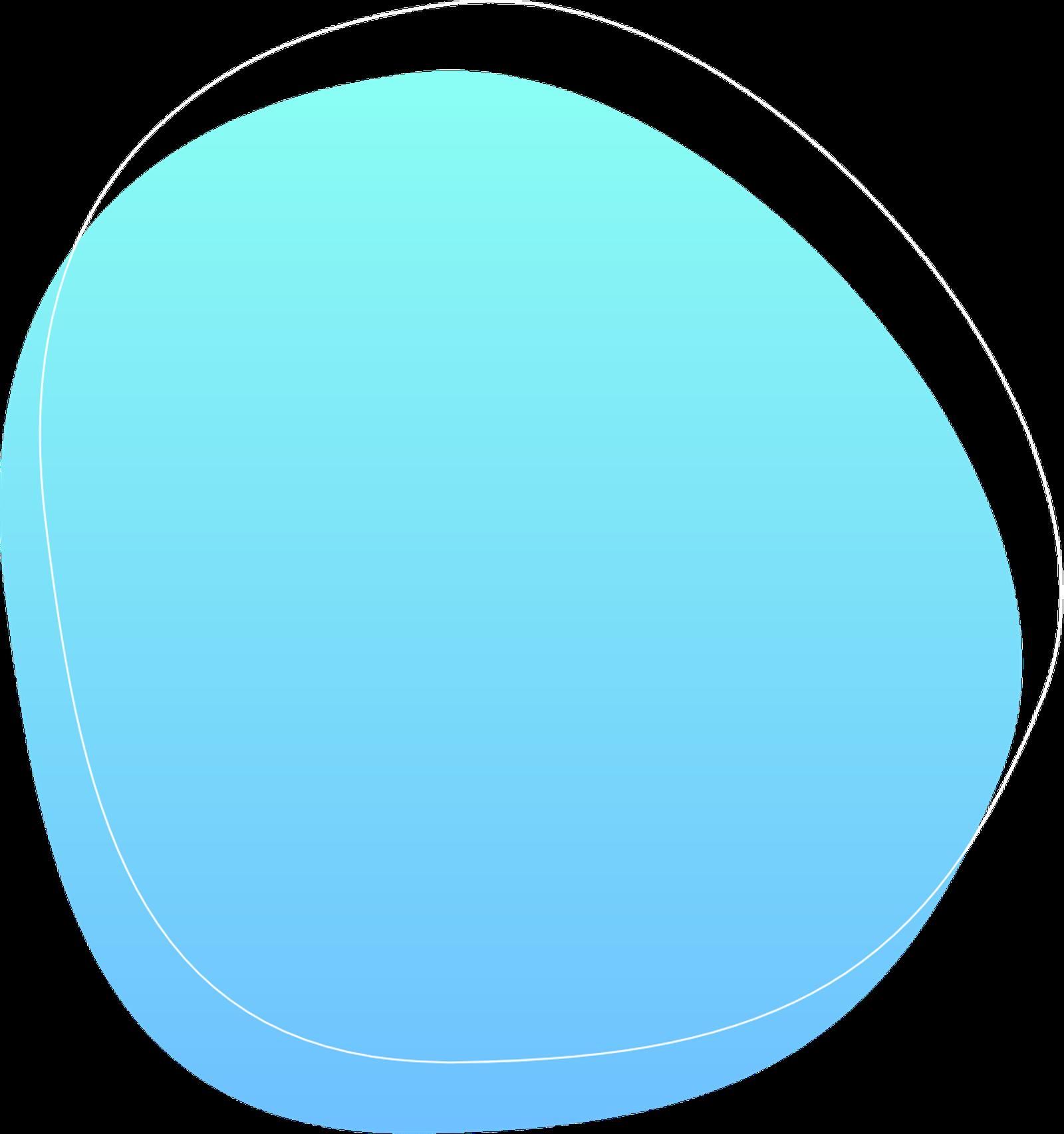 bulle bleu Sleeq