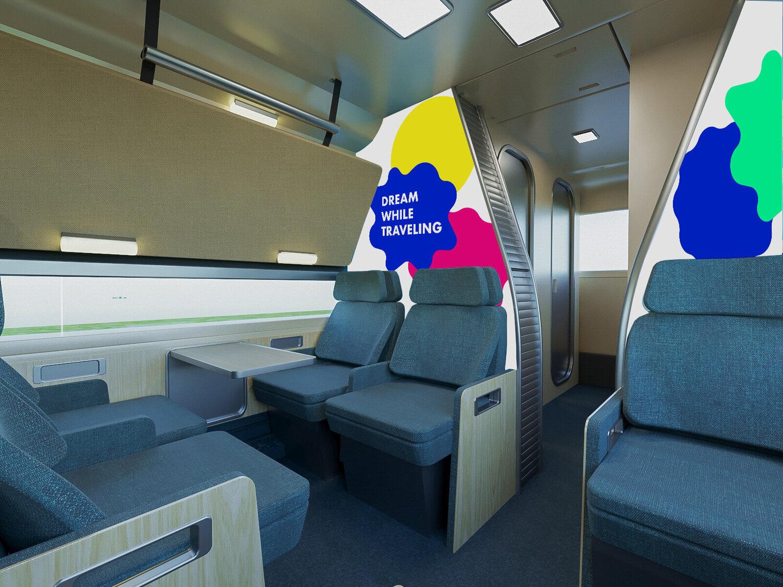 В  автобусах есть всё, чтобы сделать путешествие в компании друзей максимально комфортным и безопасным. Автобусы оснащены первоклассными сидениями, трансформирующимися в полноразмерные спальные места, туалетными и душевыми кабинами, кухней, постоянно действующим Wi-Fi
