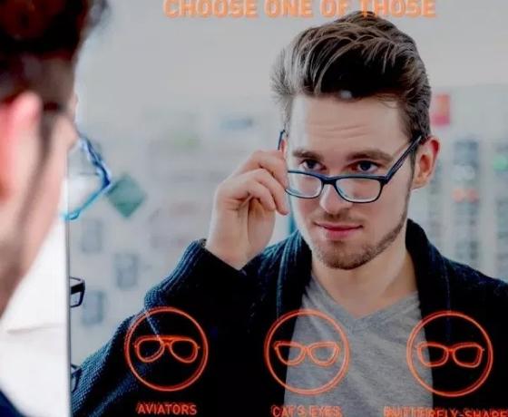 Интерактивное зеркало: 7 человек из 10 не уходят без покупки