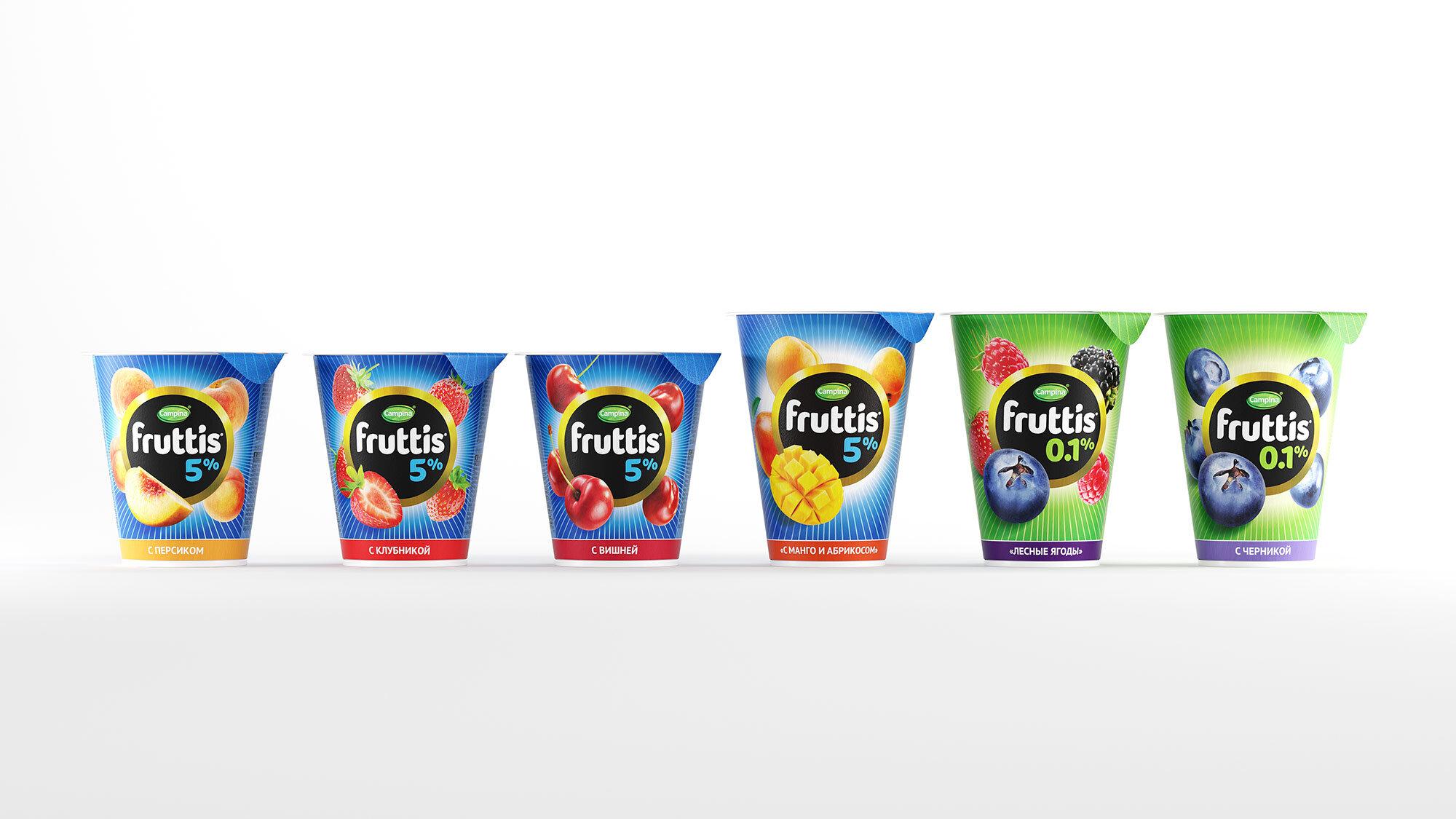 В начале 2020 года Fruttis в обновленной агентством BQB упаковке поступил в продажу.