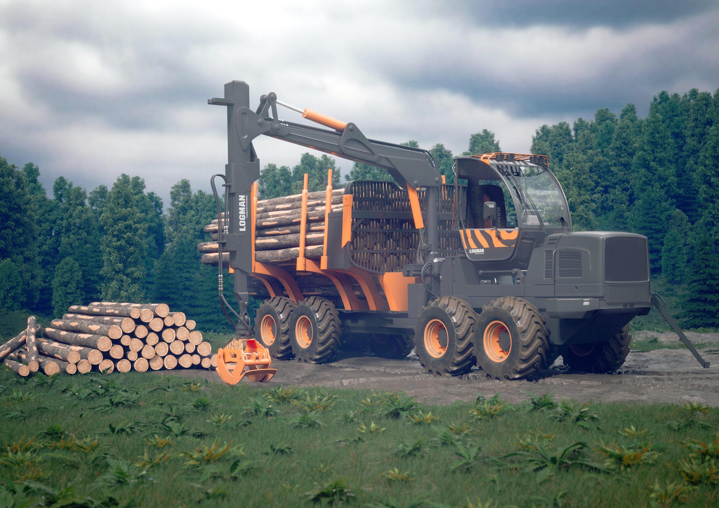 """Финский производитель лесозаготовительных машин уже более 10 лет работает на российском рынке. За это время харвестеры Logman получили высокие оценки как среди своих потребителей, так и среди экспертов отрасли. Компания стала известной в России благодаря своей производительности, надежности, функциональности, техническому обслуживанию, а также экологичности. Logman не раз получал престижную отраслевую премию """"Железный человек''- знак признания достижений в области технологий и оборудования для лесного хозяйства и лесозаготовки"""