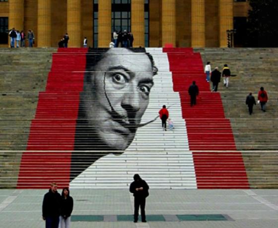 Стрит-арт: «высокое» искусство