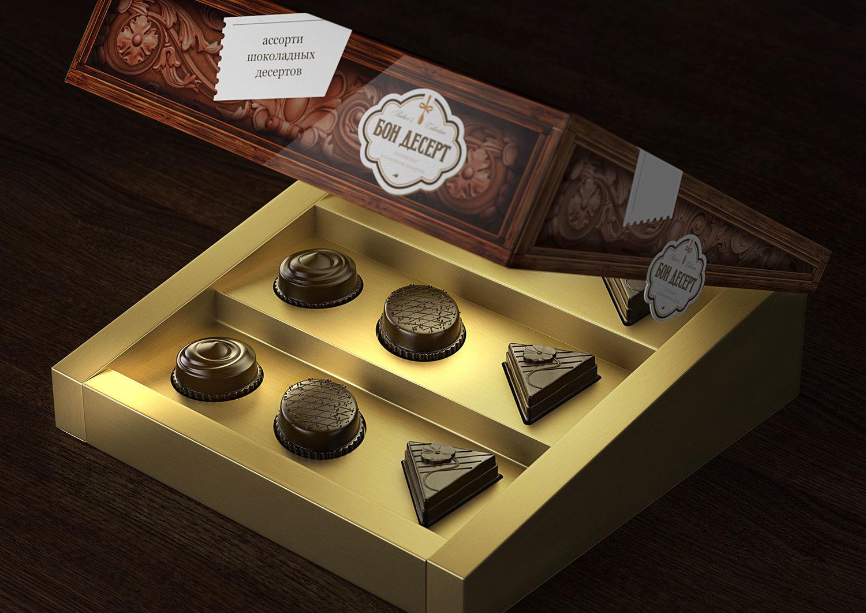 Также важным этапом проекта была разработка формы идизайна коробки. После рассмотрения нескольких концепций форм иконструкций остановились наоригинальном решении — коробке сдиагонально «скошенной» крышкой итрёхуровневом «пьедестальном» корексе.