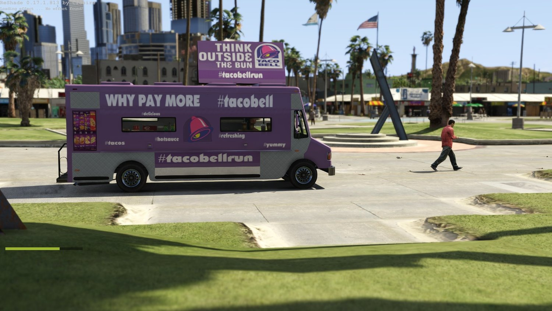 В США фуд-траками обзаводятся даже крупные корпорации, например, Starbucks и Taco Bell