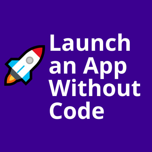 Launch an app without code icon