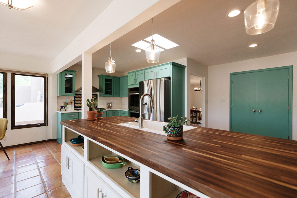 Mexican Heritage Inspired Kitchen Remodel