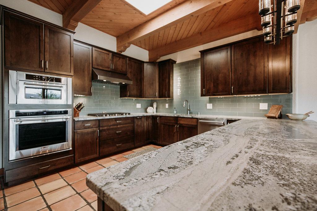 Southwest Kitchen and Bathroom Remodel