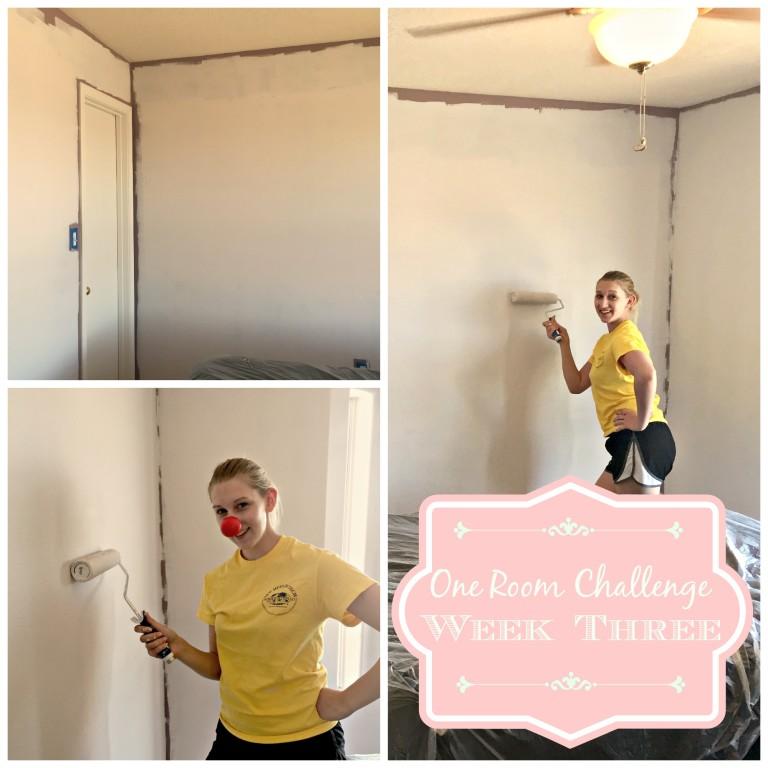 ONE ROOM CHALLENGE- Belle's Pretty In Pink Boudoir! Week 3