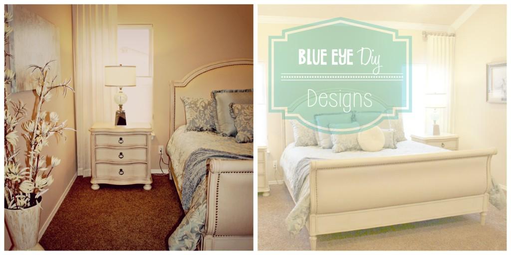 Blue Eye DIY Designs Bedroom