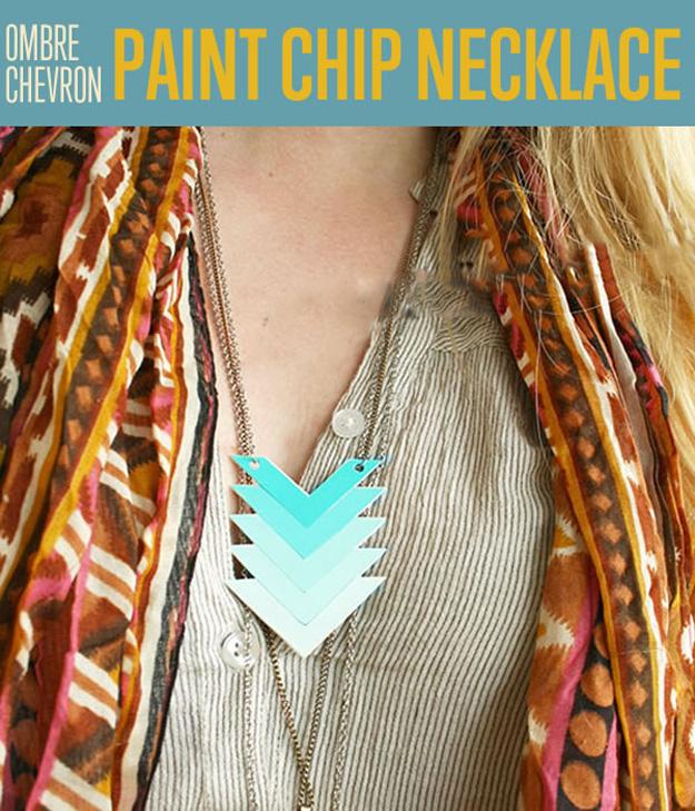 Ombre-Chevron-Paint-Chip-Necklace