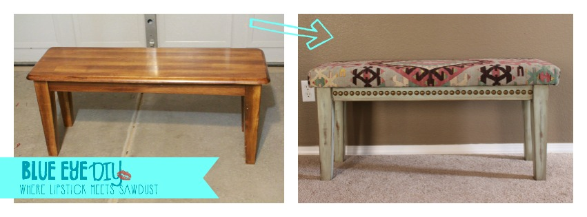 THANK YOU APARTMENT THERAPY! THE ONLINE MAGAZINE IS FEATURING MY BENCH PROJECT!
