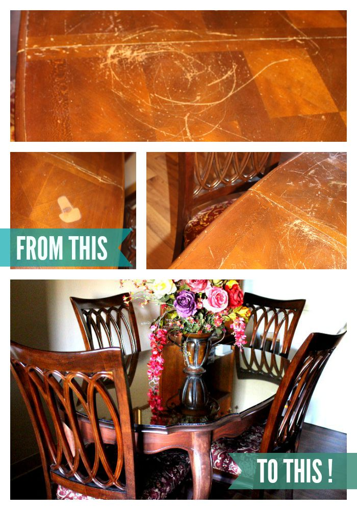 You Won't Believe How This Old Table, Takes on a New Life!