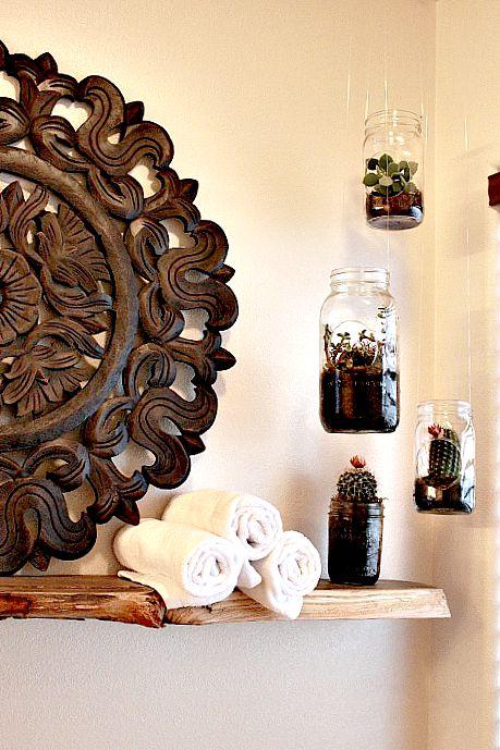 Mason Jar Terrarium After
