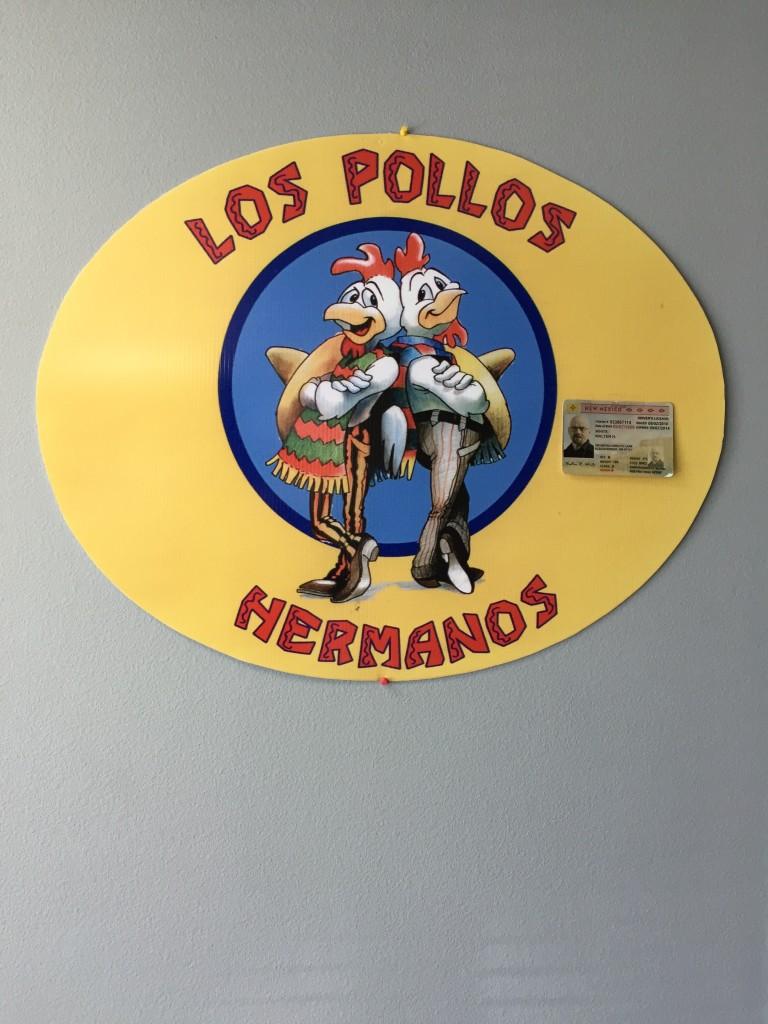 """""""Breaking Bad"""" Los Pollos Hermanos!"""