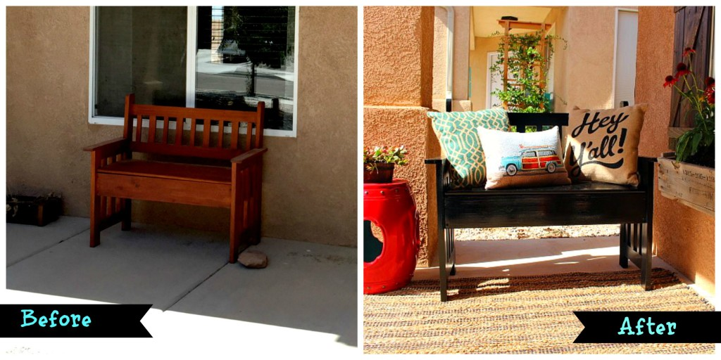 Before and After Bench