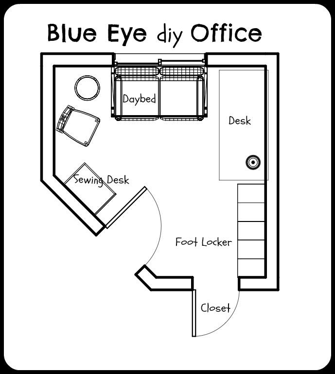 Letisha's Office Floorplan