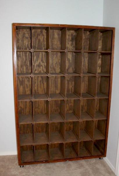 Shoe Storage Shelf Before