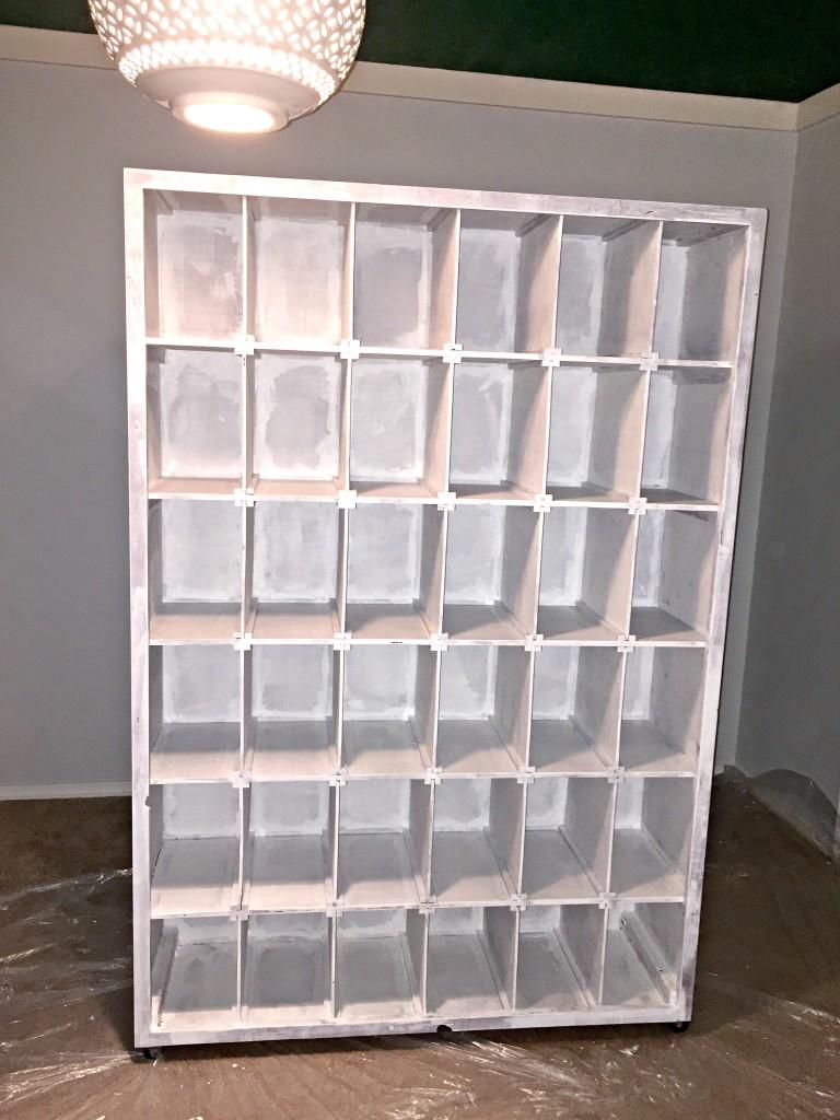 Shoe Storage Shelf Primed