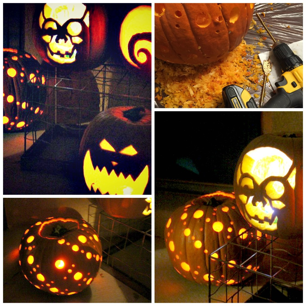 Power Tool Pumpkin Carving