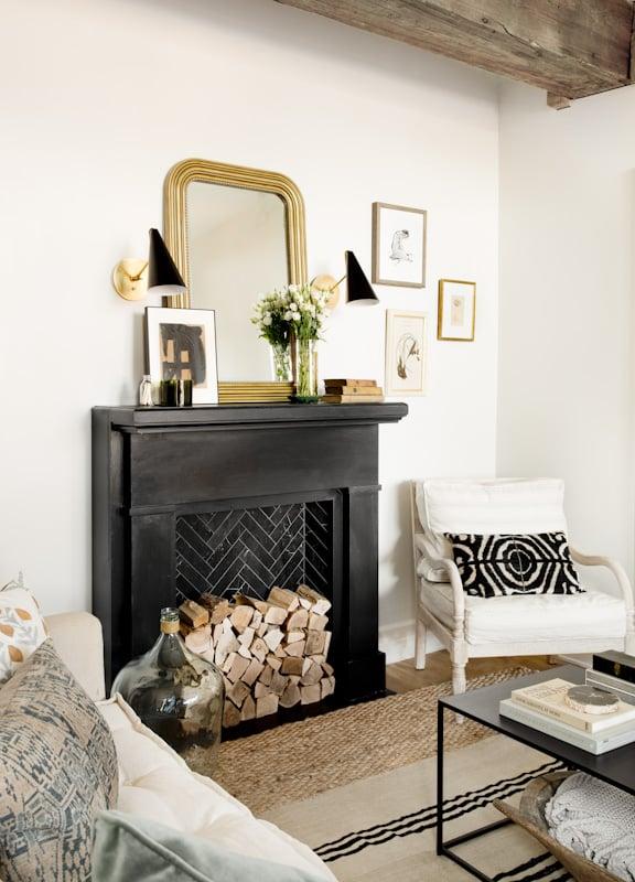 Black-Fireplace-Wood-Beams
