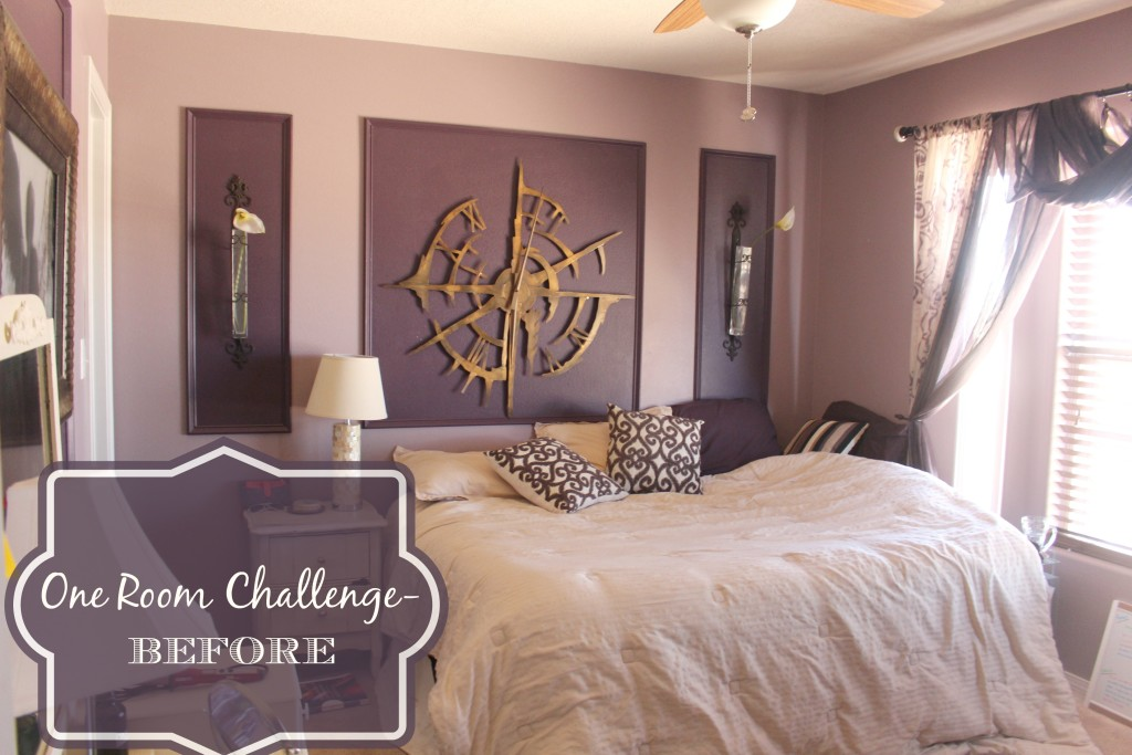 ONE ROOM CHALLENGE- Pretty in Pink- Week 1