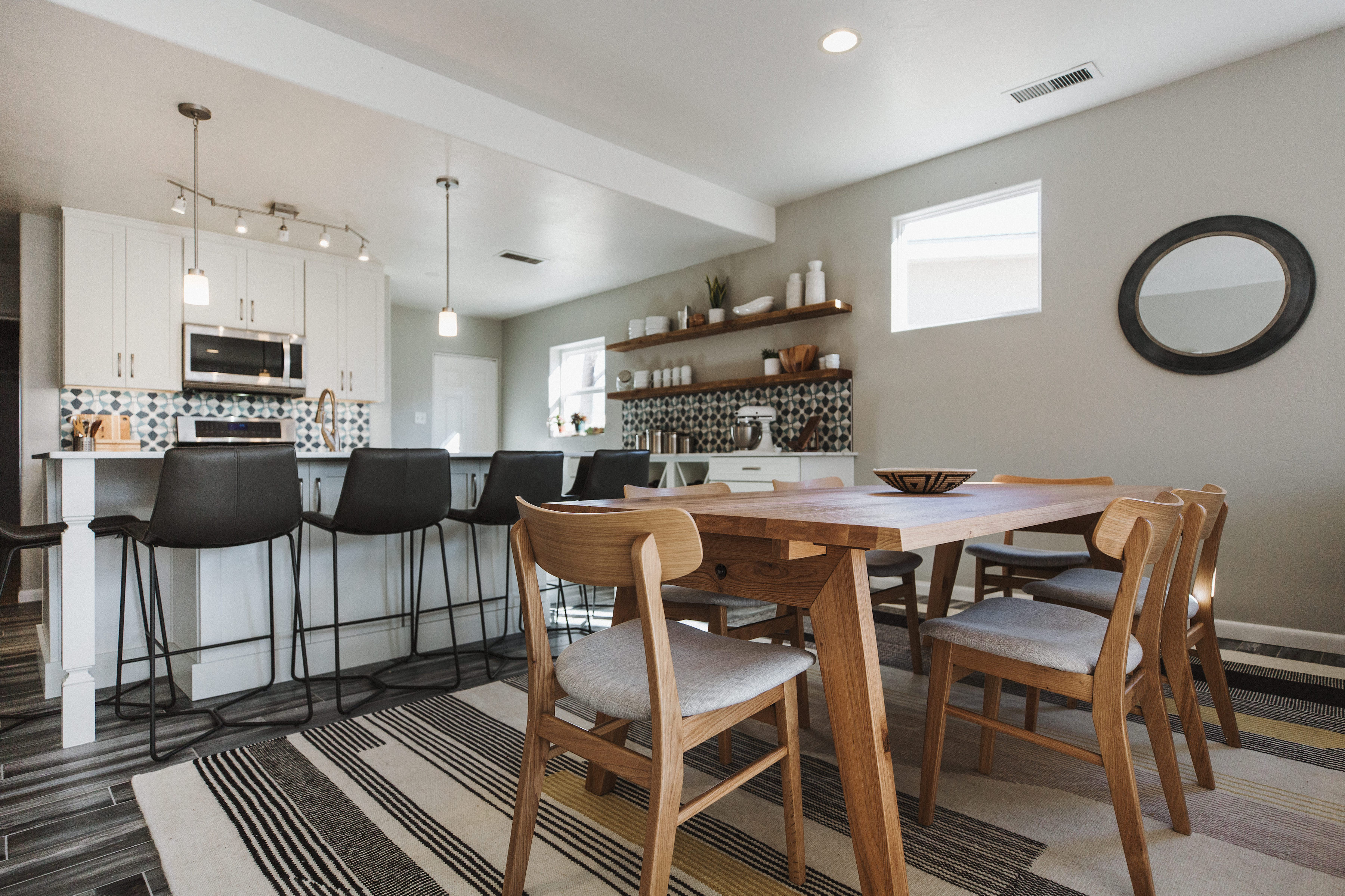 Open Concept Kitchen and Living Room Remodel