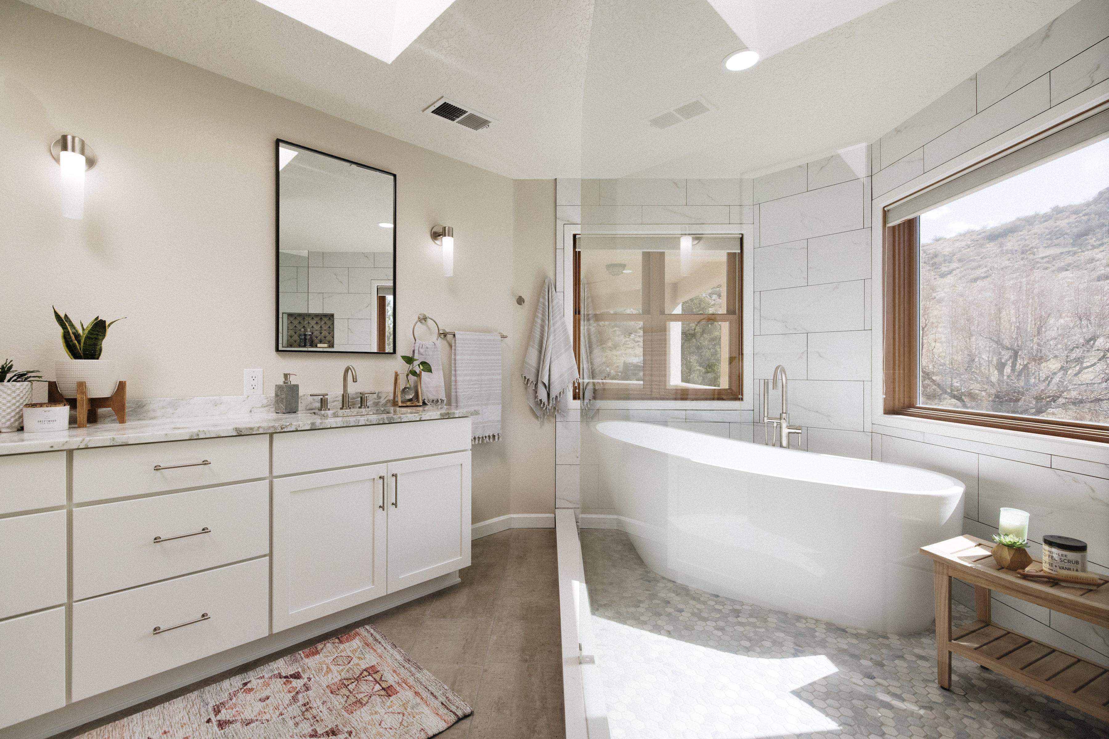 Timeless Master Bathroom Transformation
