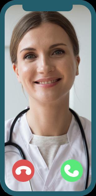 Doctor Facetiming