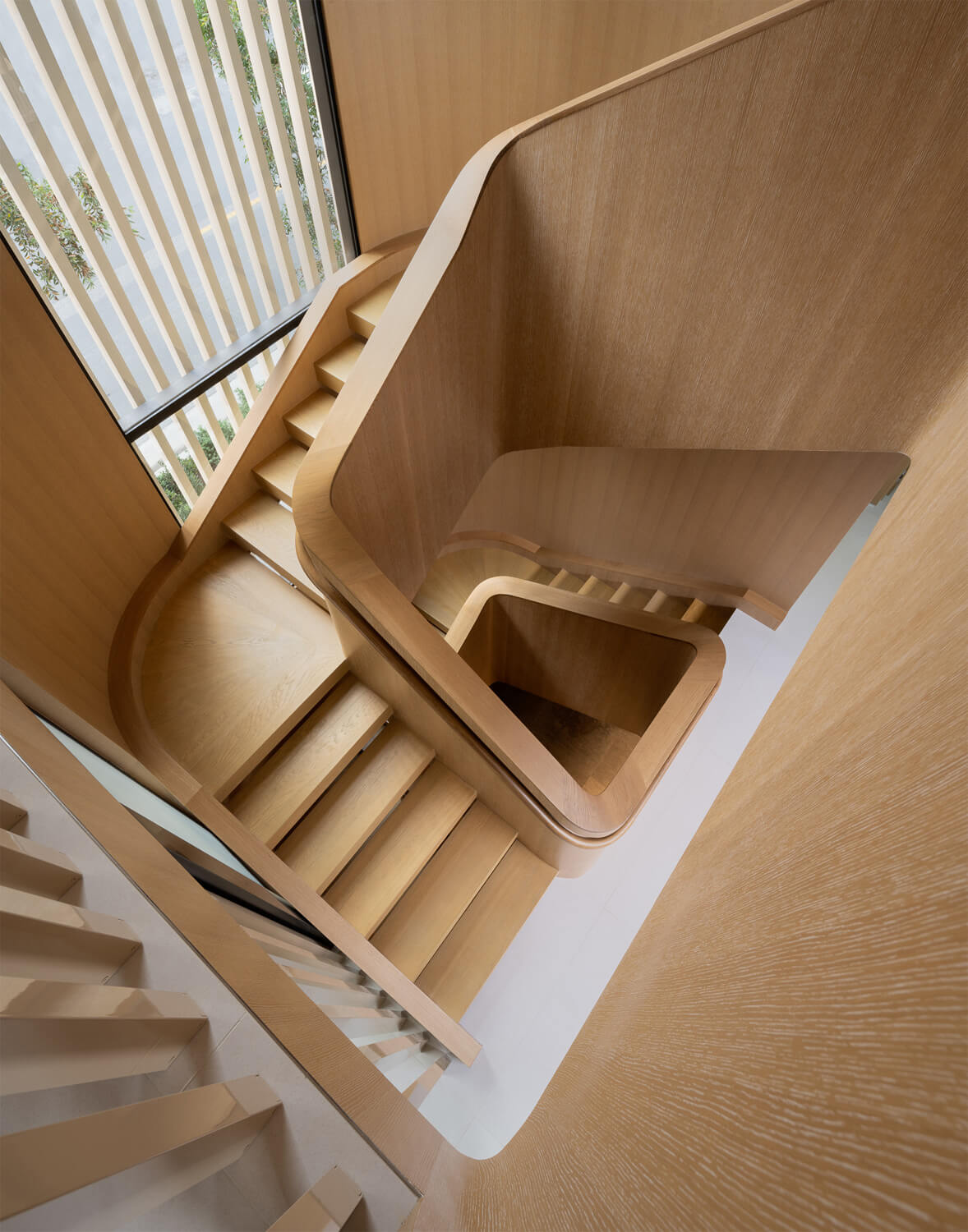 staircase designed by architect Laney LA