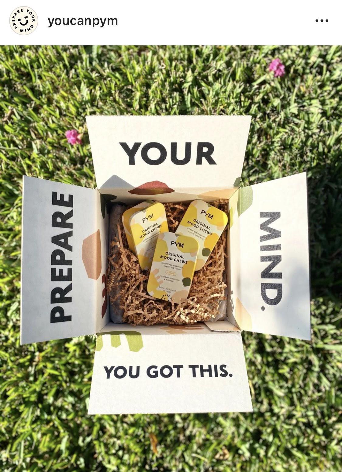 Custom ecommerce packaging example