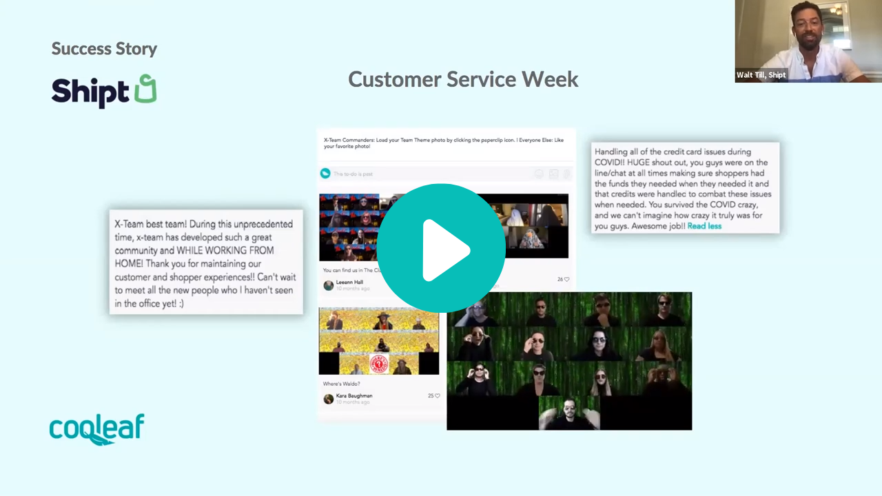 Shipt embraced team creativity with a fun-filled Customer Service Week