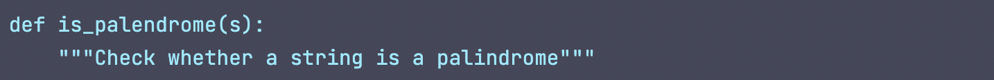 GPT-J code generation input