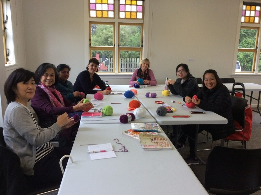 'hands on' language-learning classes - arts and crafts