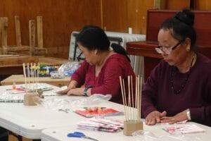 English language and creativity through doll making