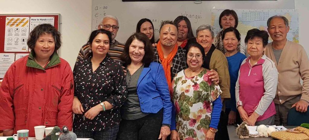 Kiwiana class at English Language Partners