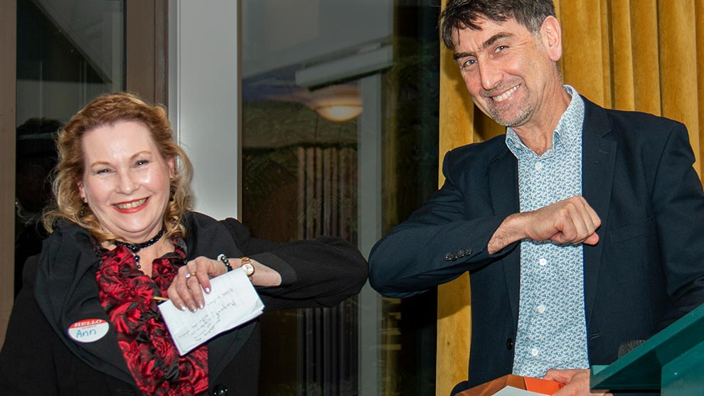 Distinguished Volunteer Service Award winner Anne Eustace