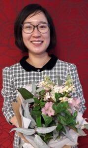 Superstar ESOL teacher Ha Hoang