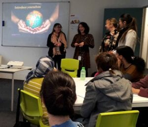 English for Job Seekers class in Wellington ELP centre