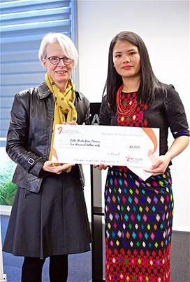 Refugee Achievement Award 2020 - Lubu