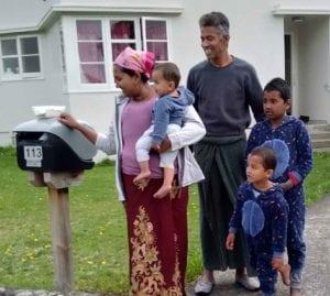 ajidah's family - volunteering with ELPNZ
