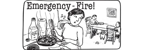 emergency-fire picture sequence